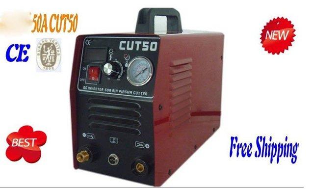 "2012 NEW  50A Powerful PLASMA CUTTER & TORCH 1/2"" clean Cut 110/220VAC Dual V   / Free Shipping"