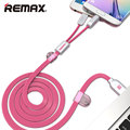 Remax USB Car Charger Total 3.4A with Spring Shape Micro USB Cable Lighting Cable for iPhone Samsung LG Huawei xiaomi Tablet PC