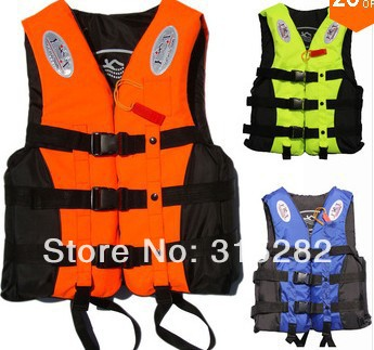 2016 most popular free shopping Blue Life vest life jacket professional swimwear fishing clothes adult child(China (Mainland))
