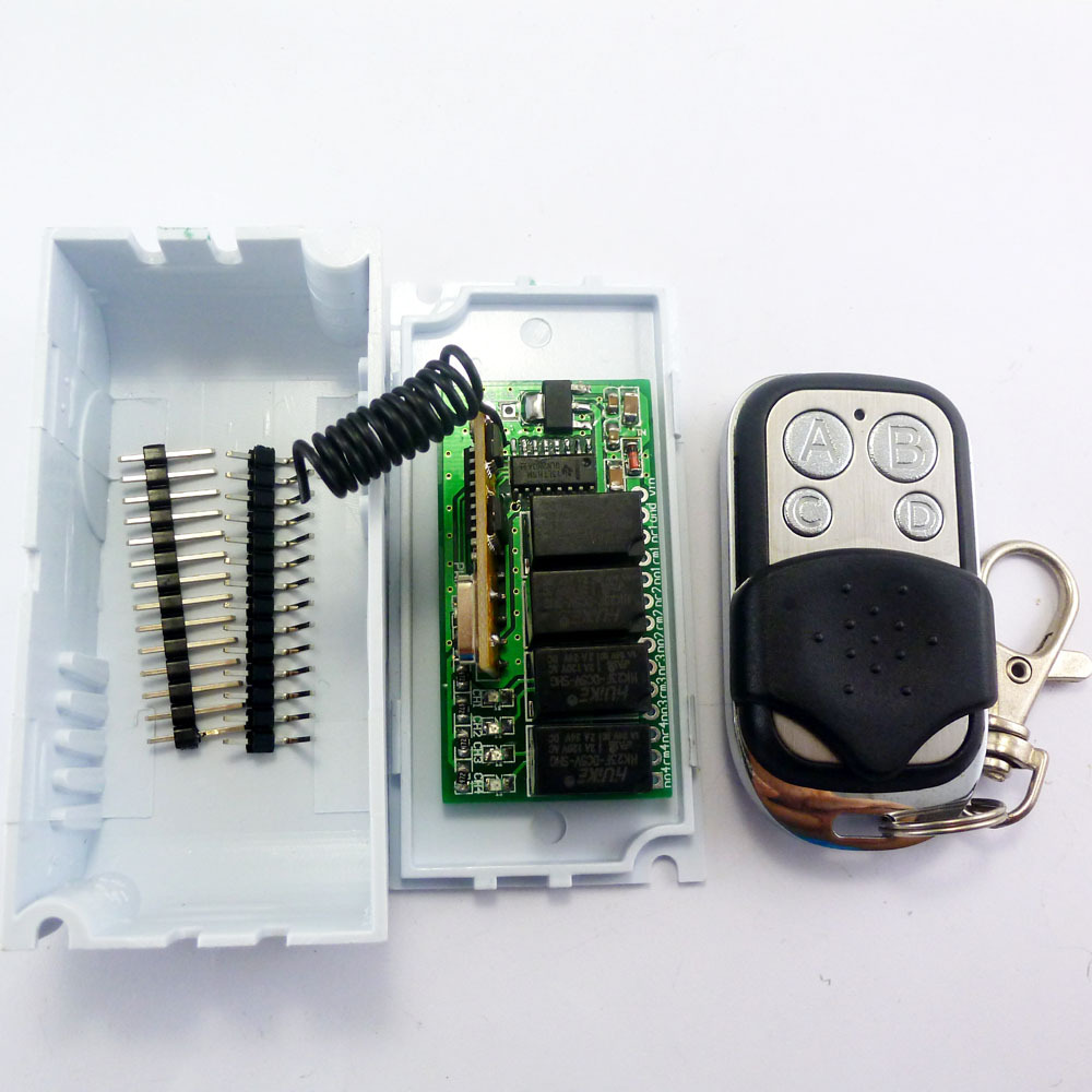Mini Dc 5v 12v 433m Wireless Controller Rf Relay Switch For Arduino Transmitter Circuit Ce031 1t1r 3 2