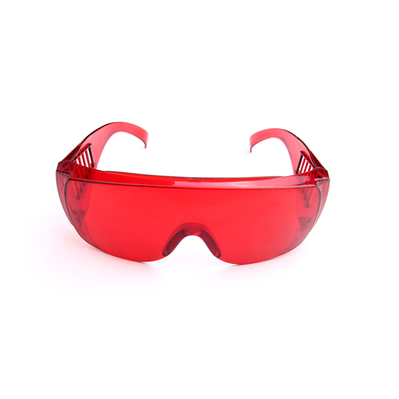 1 Pcs Dental Protective Glasses For Curing Light Teeth Whitening Lamp UV GOGGLE Red Color