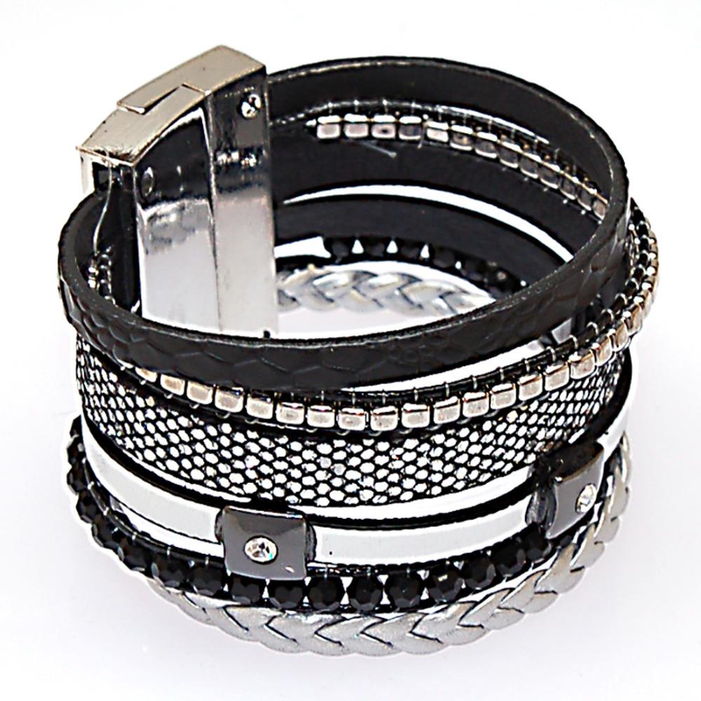 magnetic bracelets brazilian style wide wrap bracelets winter wrap charm bracelet magnetic clasp