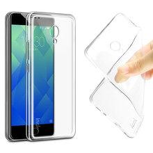 Buy IMAK Ultra Thin Soft TPU Gel Clear Case MEIZU M5 Transparent Case Slim Phone silicone Cover MEIZU Meilan 5 for $4.54 in AliExpress store