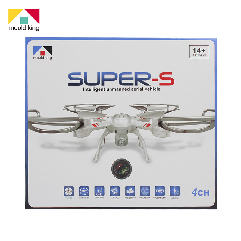 Remote Control Drone 2.4G Large RC Helicopter 6 Axis 360 Degree 3D eversion Professional Drone(China (Mainland))