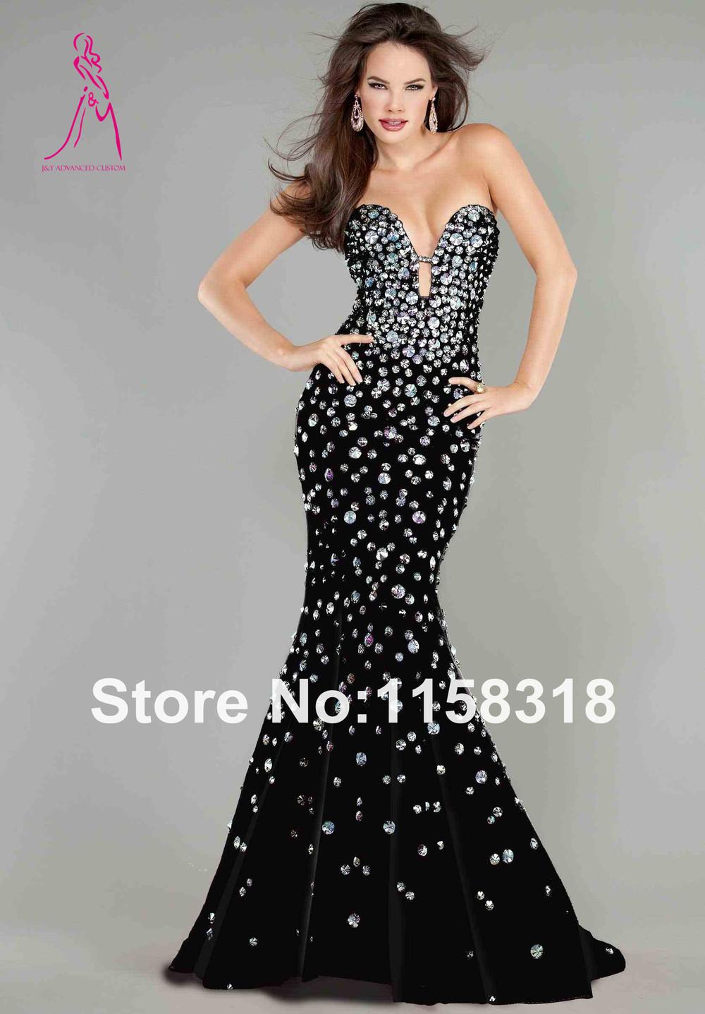 White Mermaid Prom Dresses for Rent | Dress images