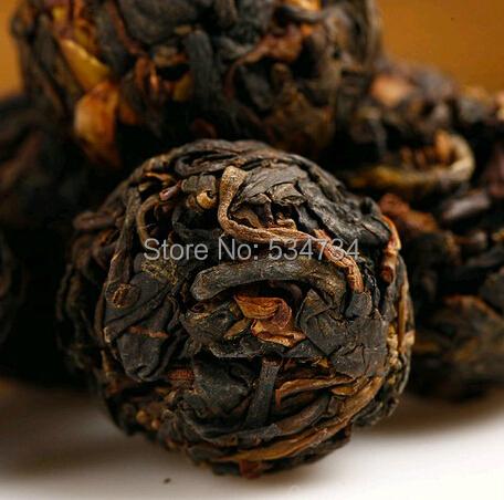 Hot Sale Black Tea Flavor 350g Pu er Puerh Tea Chinese Mini Yunnan Puer Tea Gift