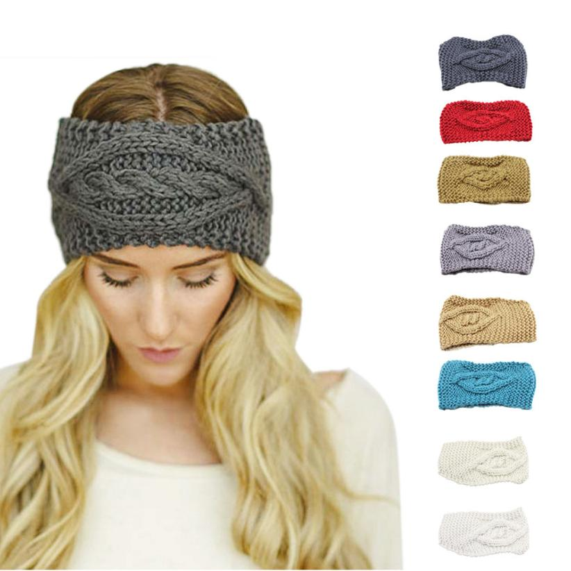 Hot Sale Knitting Wool Material Womens Winter Warm Hat Skiing Cap Knitted Empty Skull Beanie Headband horquillas de pelo Anne(China (Mainland))