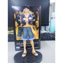BANPRESTO DXF Brotherhood Japan Anime One Piece Action Figure Jeans Monkey D Luffy PVC Action Figurine Collection Model Toy