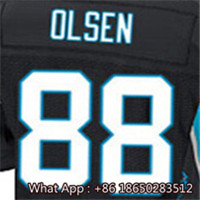 100% Stitched With Customized #1 Cam #13 Kelvin #54 Shaq #58 Thomas #59 Luke #88 Greg Men's White Blue Black Jersey(China (Mainland))