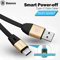 Baseus Smart Power off Type C Data Cable USB Type C High Speed Charging Sync For