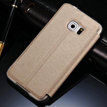 Etui z okienkiem dla Samsunga Galaxy S6 Edge | funkcja stojaka
