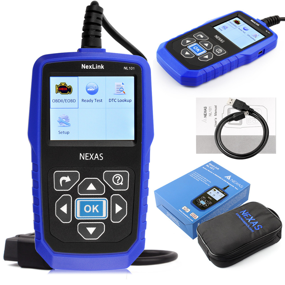 hot sale code readers scan tools obdii Battery Power Monitoring auto diagnostic scanner Car Code Reader CAN BUS OBD 2 OBDII(China (Mainland))