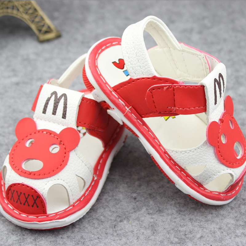Girls Summer Shoes PU Baby boy sandals shoes summer 1 2