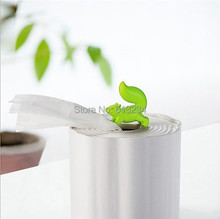 Free Shipping 1Piece Sheer Happiness ! Wagging Squirrel Toilet Paper Box Squirrel Tissue Box(White)(China (Mainland))