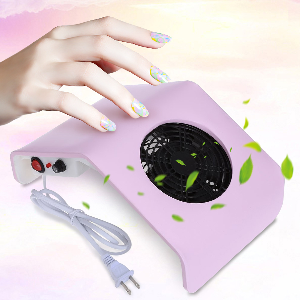 220V/110V Nail Fan Acrylic UV Gel Machine Nail Dust Collector Art Salon Suction Dust Collector Machine Vacuum Cleaner Salon Tool(China (Mainland))
