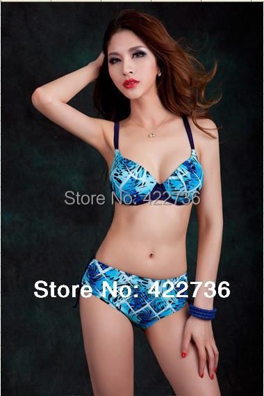 2016 women bikinis swimwear woman print swimsuit bikini set female push bathing suit plus size xxxl 4xl 5xl 6xl 7xl  -  Mary Fashion Large Size Clothing Store ( S-10XL store)