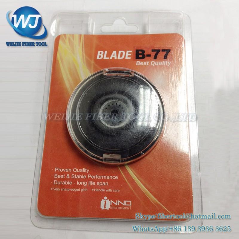 Buy Original INNO B-77 VF-78 vf-15 vf15 v7 fiber cleaver blade IFS-15 IFS-15H View3 View5 View7 Fiber optic cutting knife blade cheap