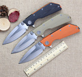 High end DOC Folding Knife D2 Blade G10 Handle Combat Tactical Survival Knives Utility Outdoor Camping