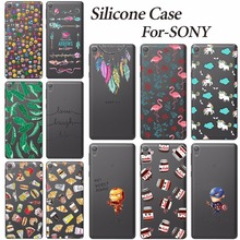 Buy Soft Phone Cover Case Sony Xperia E5 F3311 F3313 New Fashion Soft Silicone TPU Phone Cases Sony Xperia E5 E 5 Back Cover for $1.20 in AliExpress store