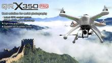 Walkera QR X350Pro W/ Devo 7 Radio/battery/charger/G-2D Gimbal/Ilook Camera RTF FPV Drone Quadcopter Track Shipping