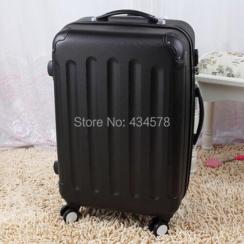 Universal wheels trolley luggage travel bag 20 24 28,pink,yellow,orange,red,white,black