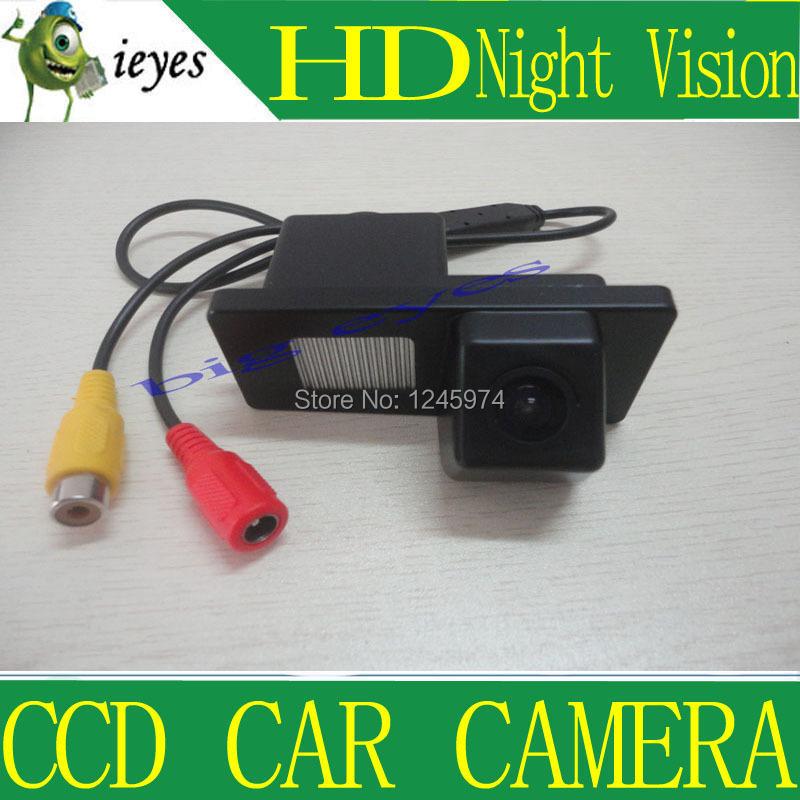 CCD Sensor Car Rear View Reverse Camera for Ssangyong Rexton / Ssang yong Kyron NTSC / PAL(China (Mainland))