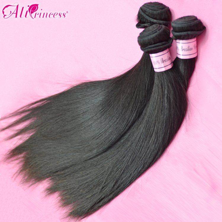 hair,brazilian straight,12 inch-30 inch,,machine hair weft,hair weave,1b,3.5oz/pc,virgin brazilian extension - Princess products co.,LTD store