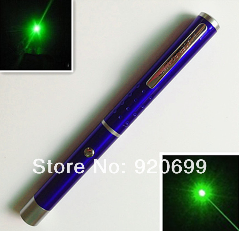 532nm 200MW green laser pointer pen(BLUE) - Shenzhen KaiMeiTe technology co., LTD store