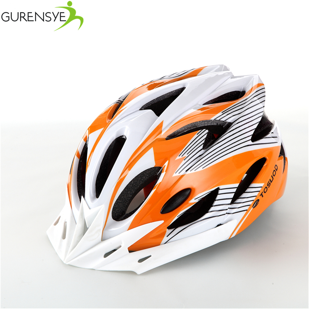 2017 Hot new Bike Cycling Helmet EPS+PVC Ultralight Mountain road orange matte Bicycle Helmet 56-63cm 11 Colors casco ciclismo(China (Mainland))