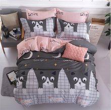 BEST.WENSD Jogo de cama bedding set King size 3/4Pc duvet cover bed linen pillowcase,bedclothes dekbedovertrek housse de couette(China)