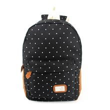 Hot Sale Women Canvas Backpack Dot Printing Backpack School Bag for Teenager Girls Casual Female Travel Rucksack Mochilas(China (Mainland))