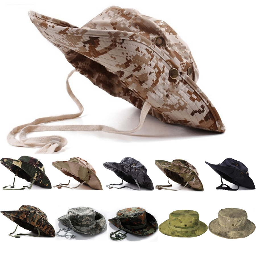 hot design Hiking male hat Summer camping mans Camouflage Tactical hat army Fishing bionic Baseball cadet Military cap<br><br>Aliexpress
