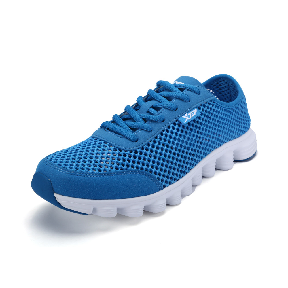 Xtep Original 2015 New Men Light Mesh Breathable Running Shoes Athletic Outdoor Sports Comforable Mens Sneakers 987319119630<br><br>Aliexpress