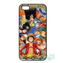 Fit for iPhone 4 4s 5 5s 5c se 6 6s 7 plus ipod touch 4/5/6 back skins cellphone case cover Anime One Piece All Luffy