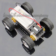 Assembly Manual Four-Wheel Drive Model Car Educational Toys DIY For Kids(China (Mainland))