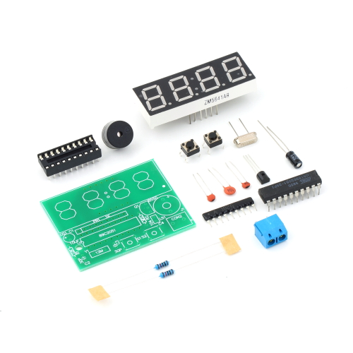 New Arrival 1set Digital Electronic C51 4 Bits Clock Electronic Production Suite DIY Kits Hot Selling(China (Mainland))
