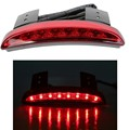 New High Quality Motorcycle Light Smoke Red Color Rear Fender Edge Red LED Brake Tail light
