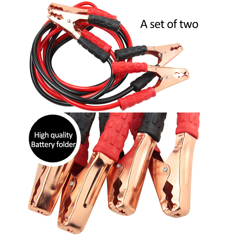 2M 500A Cars Trucks Emergency Battery Cables Car Auto Power Jumper Booster Cable Emergency Kit Accessories Ride Firewire(China (Mainland))