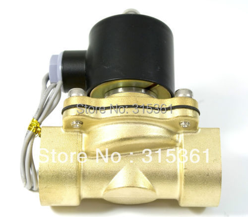 """Free Shipping Electric Solenoid Valve Water Air N/C 220V AC 3/4"""" 2W200-20 Option DC12V,DC24V or AC110V(China (Mainland))"""