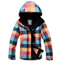 Colorful Winter Sonw Water Resistant Warm Outdoor Sport Ski Jacket Women Snowboarding Padded Coat
