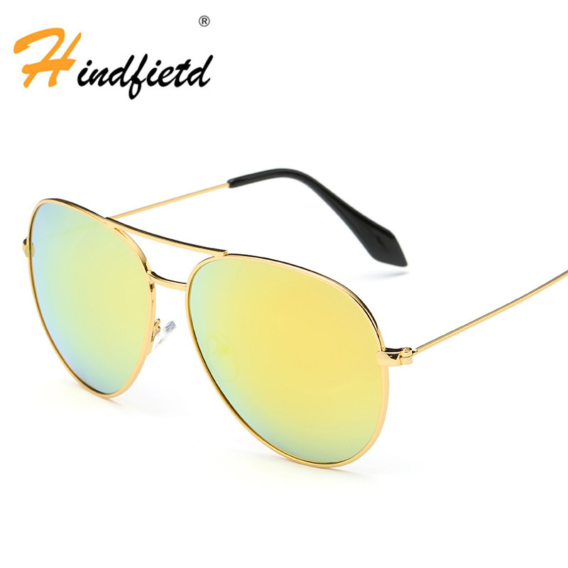 Women Goggles Sunglasses Fashion High-End Gradient Color Metal Frame Polarized Cool Eyewear Glasses High Quality Sunglasses(China (Mainland))