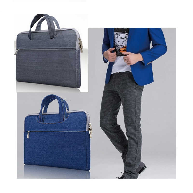 2016 hot selling new Slim laptop handbag computer bags notebook case cover man women business Briefcase travel bag free shipping(China (Mainland))