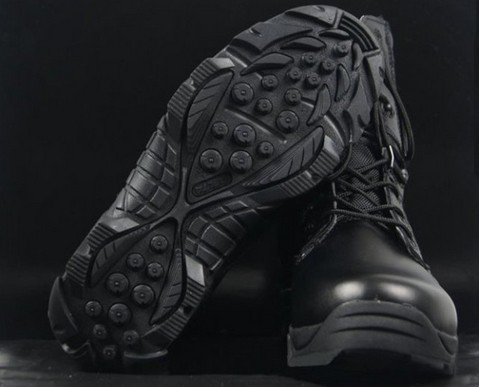 Delta high-top boots tactical desert men's black hunting military Army - KV online store