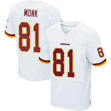 Men's #81 Art Monk Elite White Football Jersey 100% Stitched(China (Mainland))