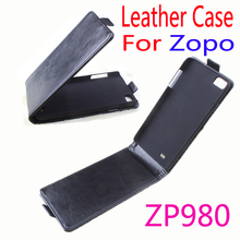Original ZOPO ZP980 Leather Case Flip Cover ZP 980 Phone Stock - Fashion Element Room store