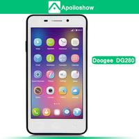 "DOOGEE LEO DG280 MTK6582 Quad Core Mobile Phone 4.5"" IPS GSM WCDMA 1GB RAM+8GB ROM 5.0MP+13.0MP Camera Android 4.4 OS 1800mAh"