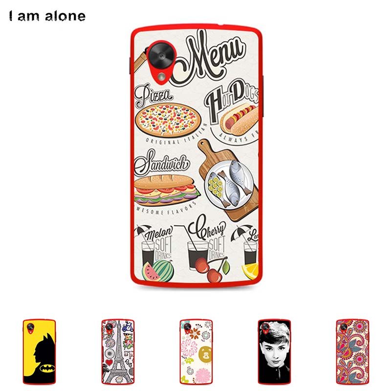 Hard Plastic Case For LG Google Nexus 5 4.95 inch Cellphone Cover Mobile Phone Protective Skin Color Paint Bag Free Shipping(China (Mainland))