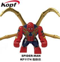 Legoing Marvel Avenger Toy & Hobbies Iron Man Raytheon Character Model Avengers Marveled Sets Kids Building Blocks Toys Legoings(China)