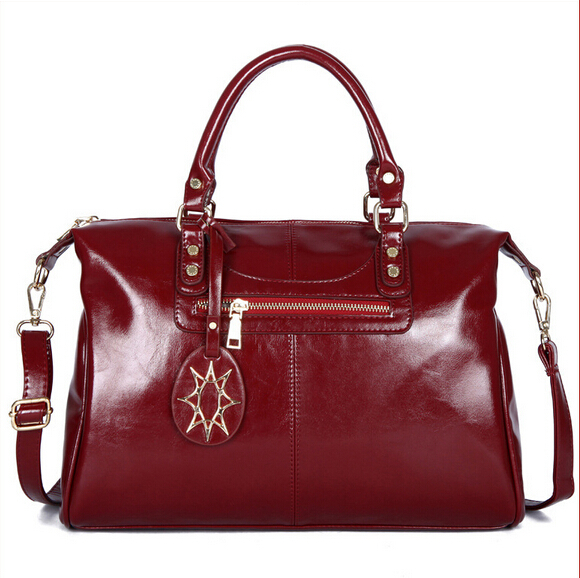 Brand Genuine Leather bag popular Women cowhide Bag Desigual Fashion Women Messenger Bags Luxury Women Leather Handbags Bolsas(China (Mainland))
