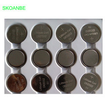 Buy 100pcs 2032 CR2032 3V 220mAh lithium Button Coin Battery Bulk watches, toys, flashlights etc for $11.39 in AliExpress store
